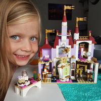 Beauty and the Beast Castle with Belles Figures Building Bricks Blocks