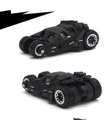 Alloy Bat man Car Models Batman car Batmobile 6 pieces 6-8 cm Metal Diecast Toy Vehicles