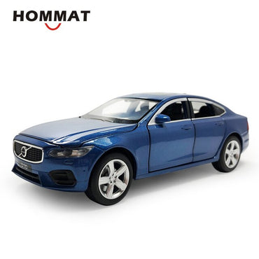 Simulation 1\32 Scale 2019 Volvo S90 Model Car Alloy Toy 1:32 Diecasts & Toy Vehicles Car