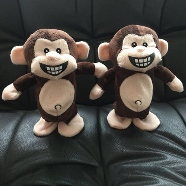 Interactive Toys Smart Walking Talking Monkey Plush Recording Electric Toys