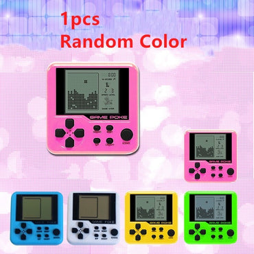 Ultra-small mini Tetris Children handheld game console Portable LCD Players