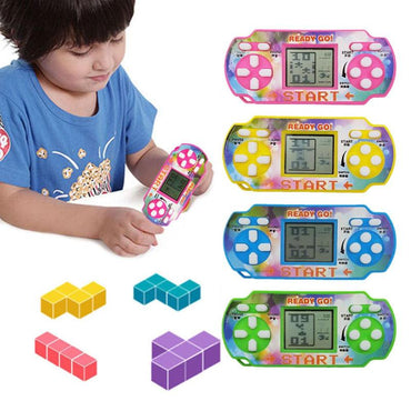 Portable Mini Tetris Game Console LCD Handheld Game Players