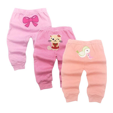 Harem PP Trousers Cotton Knitted Toddler Leggings