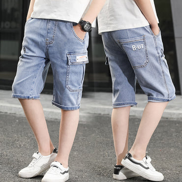 Hot Selling Boy Fashion Denim Jeans Shorts With Pocket