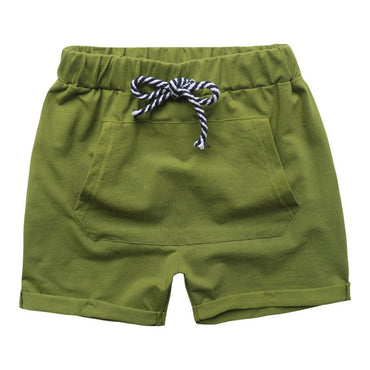 Hot Sale solid colors Kids Trousers shorts