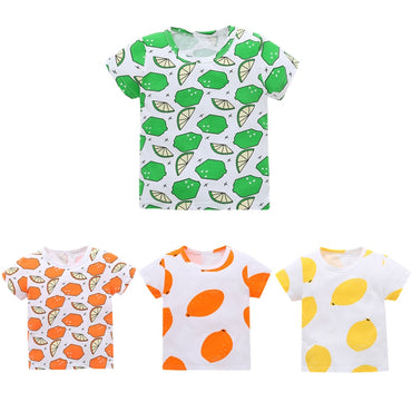 Summer 0-6 Years Infant Cotton Birthday Print Kids