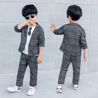 Wedding Suit for Boy 2/3 Pcs Blazer Set