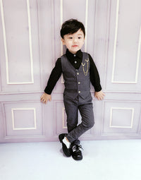 Uniform Horse Set British Dress Boy Baby Boy Suit