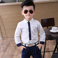 Baby Boys Suits Costume for Boy Autumn Single Breasted Kids Blazers