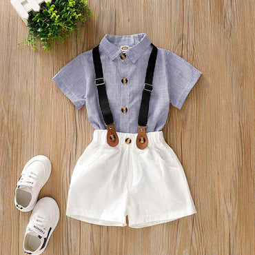 Costume Children Short Wedding Overall Baby Boy Suits