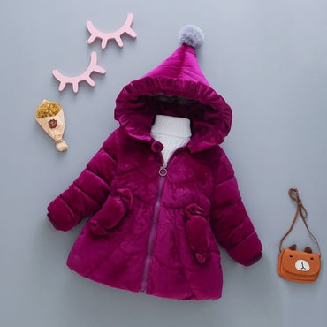 down jacket comfortable cute baby Clothes Children Clothing