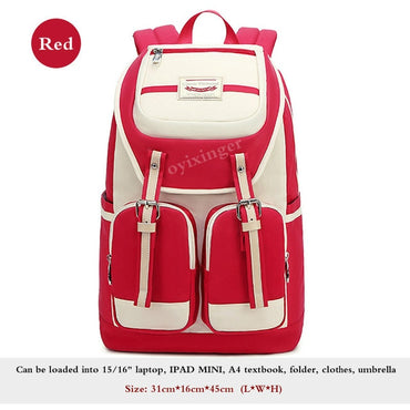 Girl Schoolbag Middle Junior School Student Backpacks