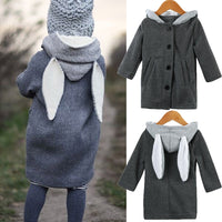 Kids Baby Girls Winter Warm Cotton Hoodies Outwear