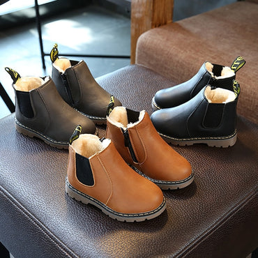 Chelsea Boot With Zip Big Boys Snow Boots