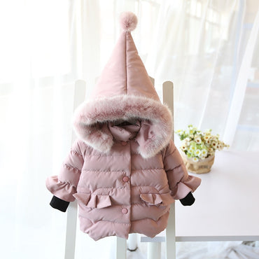 long sleeve Hoodies Coat For Girls Baby Kids jacket