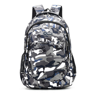 Children Backpack Kids Book Bag Camouflage Waterproof School Bags