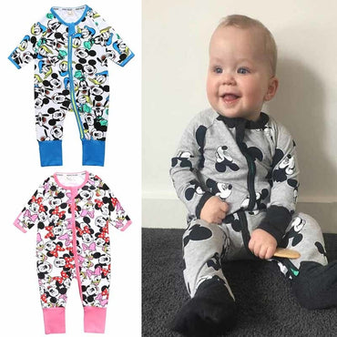 Boy Clothing Minnie Infant Jumpsuit Disney  New Fashion Outfits