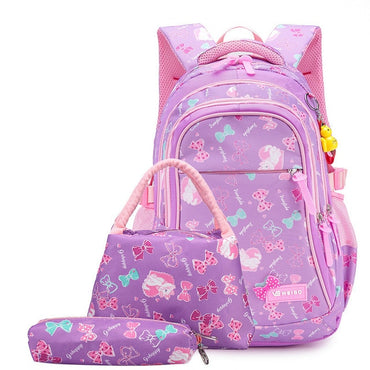 Children School Bags For Girls Princess School Backpacks