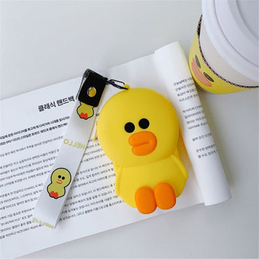 Hot Sale Kawaii Cartoon Children Plush Coin Purses Wallet