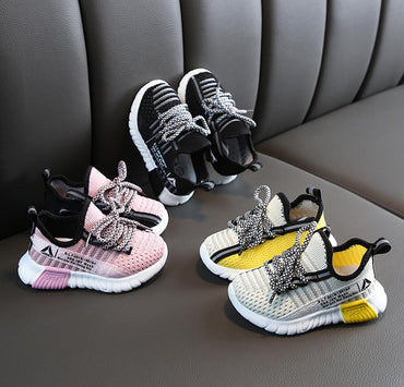 Girls Sport Shoes Children Casual Sneakers Baby Running Shoes