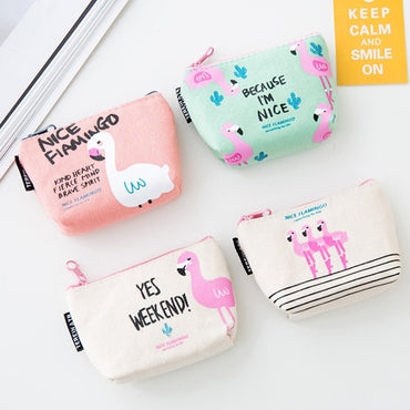 Animal Mini Change Wallets Money Bag
