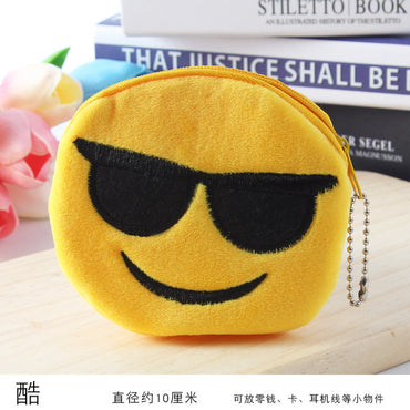 Coin Purse Plush Small Wallet Cute Mini Purse