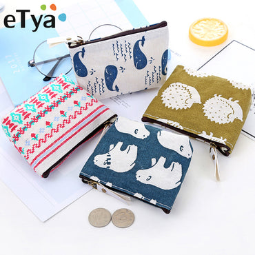 Wallet Card Key Mini Coin Purse Small Money Bag Change