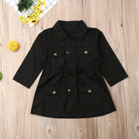 Fashion Infant Baby Girls Boys Kids Jacket Coat