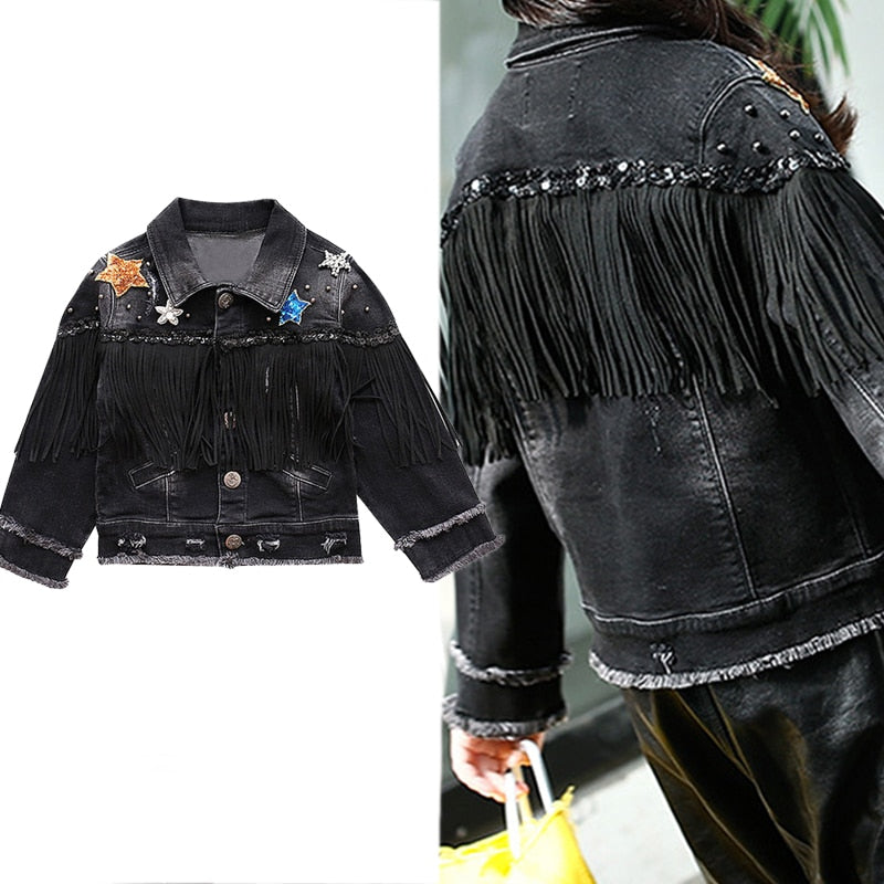 Denim Jacket For Girls Boutique