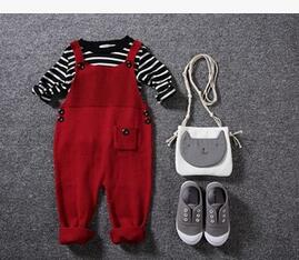 Overalls Jumpsuits Boys  Candy Color Bib Harem