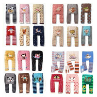 Animal Baby Girls Long Pants