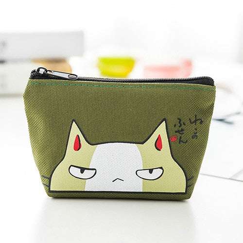 Wallets Small Cute Cartoon Animal Card Holder Key Bag Money Bags