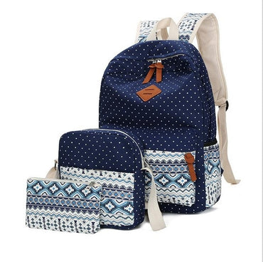 backpack High quality canvas backpacks