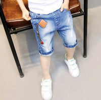 Hot selling boys soft denim short