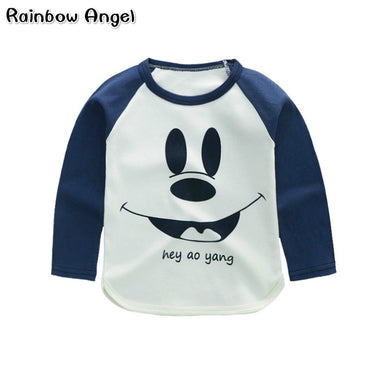 Cartoon T Shirts Long Sleeve Cotton T Shirts