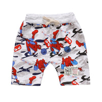 1-4Ys Cartoon Loose Boys Shorts