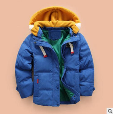 Hooded Winter baby autumn jacket toddler coat