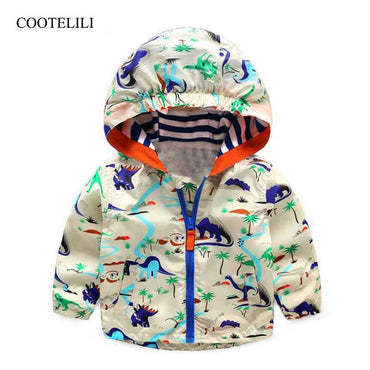 Baby Boy Autumn Clothes Cool Dinosaur Toddler Boy