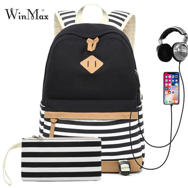 Teenager Girls Boys Backpack Laptop Bag