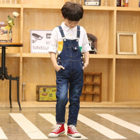 Overall Kids Denim Jumpsuit