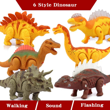 Walking With Sound Luminescence Funny Electronic Brachiosaurus Toys