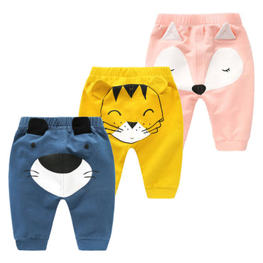 Hot Infant Cartoon Harem Pants
