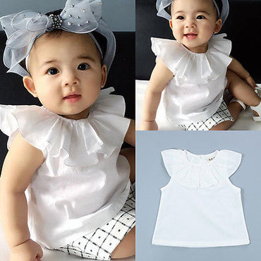 One Piece T shirt Summer Toddler Clothing Fashion White Clothes