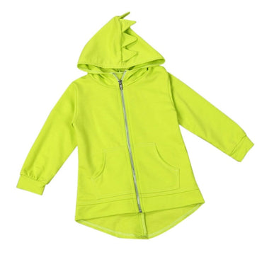 New Baby Boys Coat Outerwear Jacket Dinosaur Style Hooded Headwear Coat Clothes