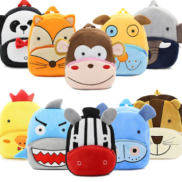 Backpacks Cartoon Girl Boys Kindergarten Schoolbag
