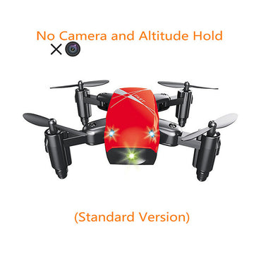 Mini Drone with HD Camera S9 No Folding Camera RC Quadcopter altitude helicopter