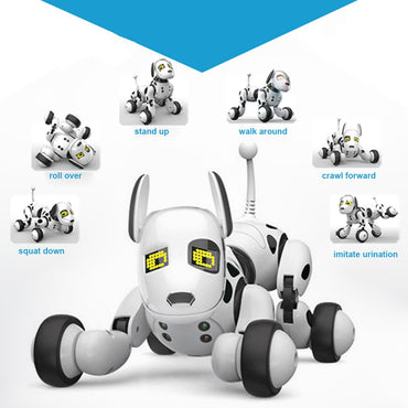 Smart Robot Dog 2.4G Wireless Remote Control Kids Toy Intelligent Talking Robot
