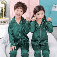 Long sleeve children's clothing sleepwear