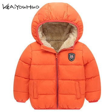 Winter Kids Outerwear Boys  Down Jacket New Year's Costumes Boys