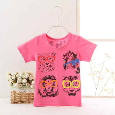 New Fashion Baby Boy Headphone Design Casual T-shirt